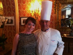 Paul Bocuse and Anne Elizabeth Jordan