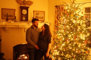 Julien and I in North Carolina for Christmas
